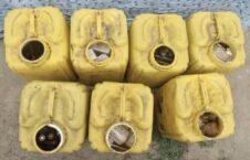 مهمات طالبان تخار 1 226x145 - تصاویر/ کشف یک ذخیره گاه مهمات گروه طالبان در ولایت تخار