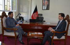 بررسی وضعیت مهاجرین افغان در دیدار معین امور پناهندگان با معاون سفیر ترکیه در افغانستان