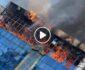 ویدیو/ لحظه وقوع آتشسوزی در فروشگاهی در مکروریان چهارم کابل