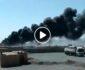 ویدیو/ لحظه وقوع آتشسوزی در گمرگ میل 78 فراه