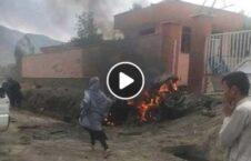 ویدیو/ انفجار تروریستی در نزدیکی یک مکتب دخترانه در دشت برچی کابل