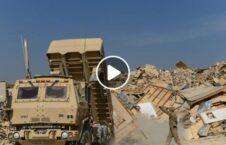 ویدیو/ انهدام تجهیزات نظامی خارجی ها پیش از خروج از افغانستان!