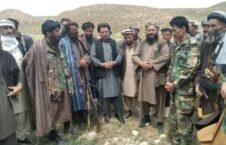 پروسه صلح سمنگان 1 226x145 - تصاویر/ پیوستن یک گروه طالبان به پروسه صلح در ولایت سمنگان