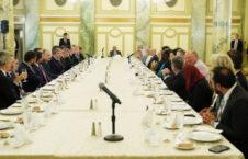 اشرف غنی گروه دوستان امریکایی 226x145 - دیدار رییس جمهور غنی با گروه دوستان امریکایی در نخستین روز سفرش به ایالات متحده