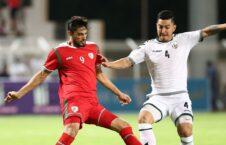 افغانستان عمان 226x145 - شکست تیم ملی فوتبال افغانستان در برابر عمان