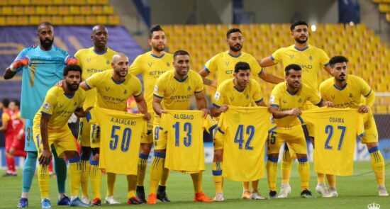 النصر عربستان 550x295 - باشگاه النصر عربستان سوژه رسانه ها شد!