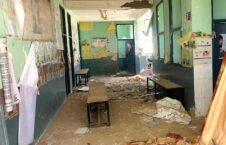 تخریب هلمند 3 226x145 - تصاویر/ تخریب یک مرکز صحی در ولسوالی نادعلی هلمند