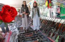تسلیحات طالبان میدان وردک 226x145 - تصویر/ تسلیحات به غنیمت گرفته شده توسط طالبان در ولایت میدان وردک