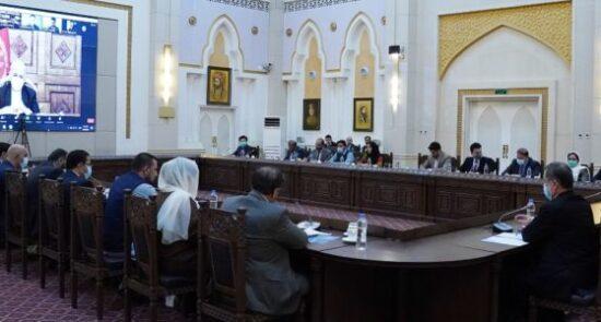 جلسه کمیسیون تدارکات ملی 550x295 - برگزاری جلسۀ اختصاصی کمیسیون تدارکات ملی در ارگ ریاست جمهوری