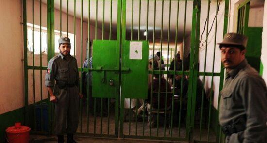 زندان 550x295 - پایان تطبیق دوز اول واکسین کرونا در زندانهای ۳۴ ولایت افغانستان