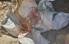 ماین زابل کندهار 1 226x145 - تصاویر/ کشف ماین جاسازی شده طالبان در شاهراه زابل - کندهار