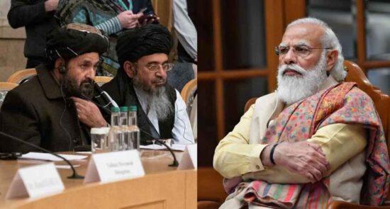 هند طالبان 550x295 - ارتباط گیری هند با طالبان با چراغ سبز امریکا