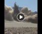 ویدیو/ لحظه انفجار تعمیر ولسوالی اناردره ولایت فراه توسط طالبان
