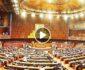 ویدیو/ درگیری در پارلمان پاکستان