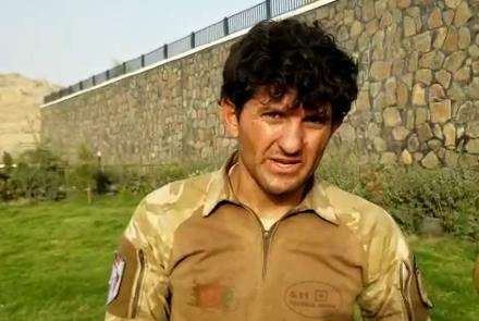 احمد شاه - عسکر شجاعی که به تنهایی در برابر طالبان جنگید! + عکس