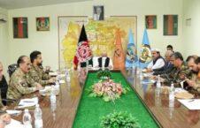 اشرف غنی جلسه ارشد امنیتی 226x145 - برگزاری جلسه ارشد امنیتی به ریاست رئیس جمهور غنی