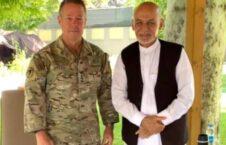 اشرف غنی سکات میلر 226x145 - دیدار رییس جمهور غنی با قوماندان عمومی ماموریت حمایت قاطع در افغانستان