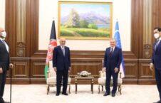اشرف غنی شوکت میرضیایف 226x145 - حمایت رییس جمهور اوزبیکستان از حکومت و مردم افغانستان