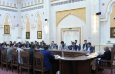 اشرف غنی مسئولین ادارۀ ملی احصائیه و معلومات1 226x145 - تاکید رییس جمهور غنی بر تسریع روند توزیع تذکره های الکترونیکی