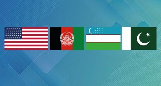 ایالات متحده افغالنستان اوزبیکستان و پاکستان 550x295 - پیام وزارت خارجه درباره توافق ایجاد پلاتفورم دپلوماتیک با ایالات متحده، اوزبیکستان و پاکستان