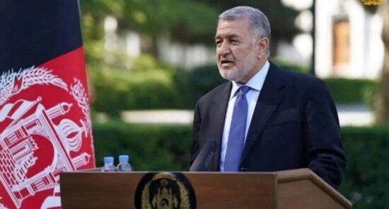 بسمالله محمدی 550x295 - پیام سرپرست وزارت دفاع ملی درباره وضعیت امنیتی کابل