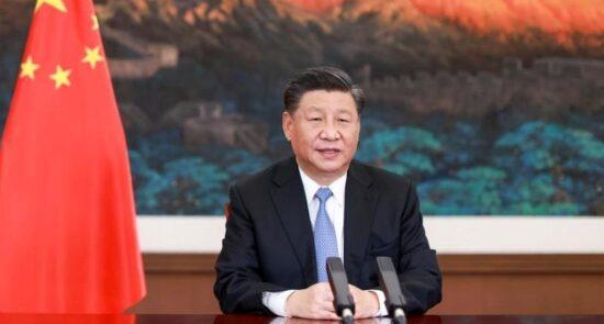 شی جین پینگ 550x295 - ابراز نگرانی رییس جمهور چین درباره وضعیت جاری امنیتی افغانستان
