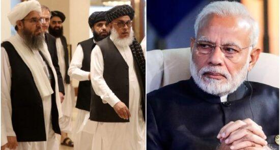 هند طالبان 550x295 - پشت پرده مذاکرات هند با طالبان