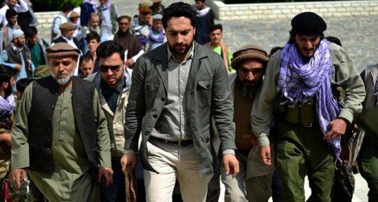 احمد مسعود 1 550x295 - حمایت دو مقام امریکایی از رهبر جبهه مقاومت ملی