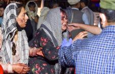 انتحاری کابل داعش 226x145 - افشاگری تکان دهنده از جنایت خارجی ها در انفجار میدان هوایی کابل