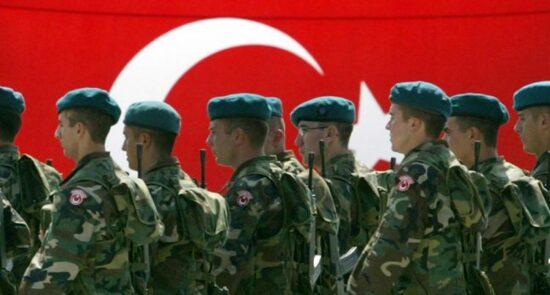 ترکیه عسکر 550x295 - درخواست ترکیه از پاکستان برای میانجیگری با طالبان