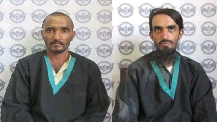 داعشی کابل - تصویر/ دستگیری دو داعشی در کابل