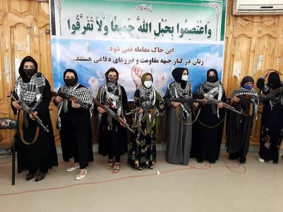 زنان هرات - تصویر/ اعلام آماده گی زنان هرات برای مبارزه با طالبان