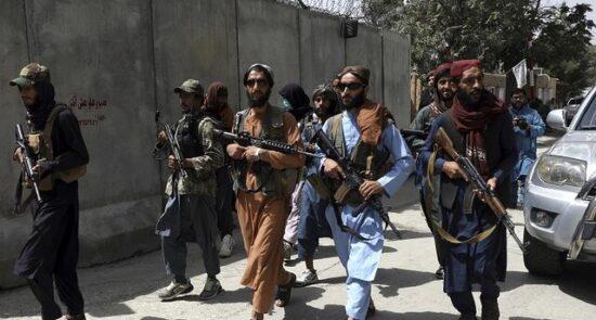 طالبان 1 550x295 - نگرانی سازمان ملل از نقض حقوق بشر در افغانستان