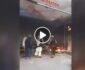 ویدیو/ آتش جنگ در مرکز ولایت هلمند