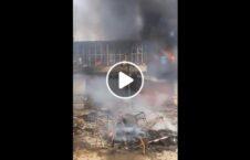 ویدیو آتش کندز طالبان 226x145 - ویدیو/ آتش زدن بخشهایی از شهر کندز توسط طالبان
