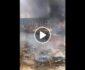 ویدیو/ آتش زدن بخشهایی از شهر کندز توسط طالبان