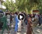 ویدیو/ تجمع زنان شجاع افغان روبروی ارگ در مقابل طالبان