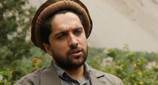 احمد مسعود 1 550x295 - جبهه مقاومت ملی: احمد مسعود در جایی امن به سر میبرد