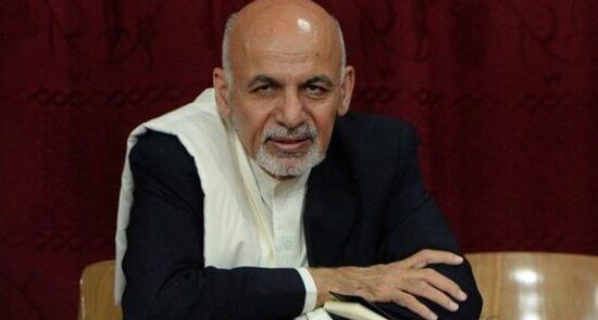 اشرف غنی 550x295 - پیگیری فرار جنجالی رییس جمهور پیشین افغانستان توسط نماینده گان پارلمان اروپا