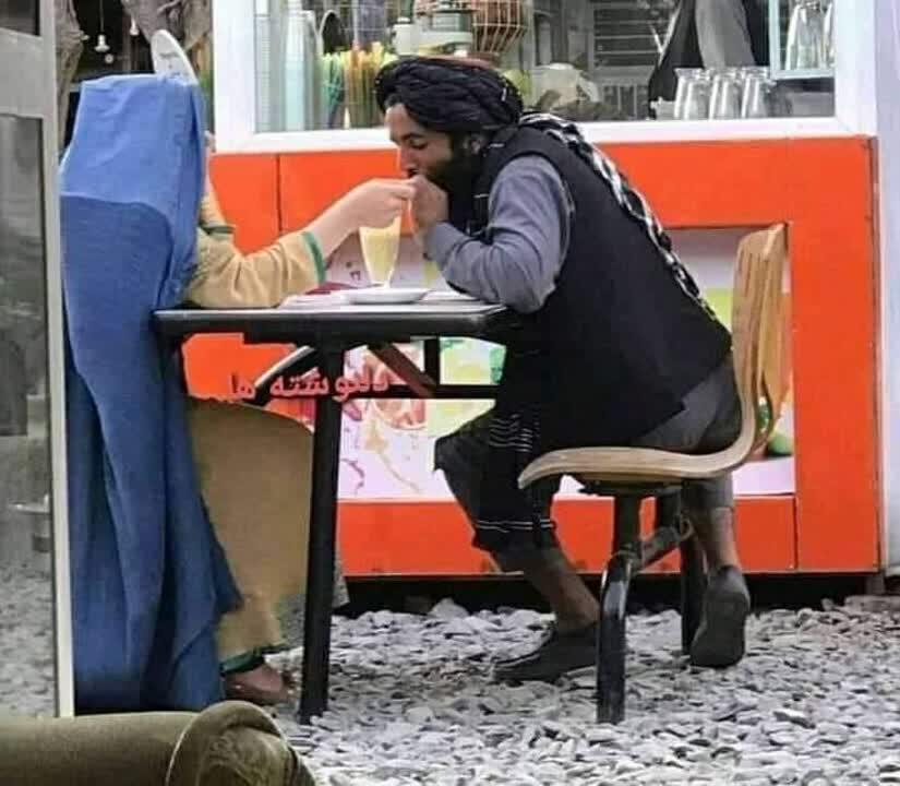 طالبان خلوتگاه - تصویر/ در خلوتگاه طالبان!