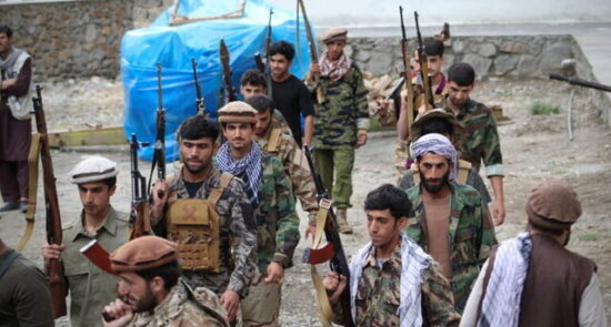 مقاومت پنجشیر 550x295 - واکنش جبهه مقاومت به ادعای طالبان درباره تصرف کامل پنجشیر