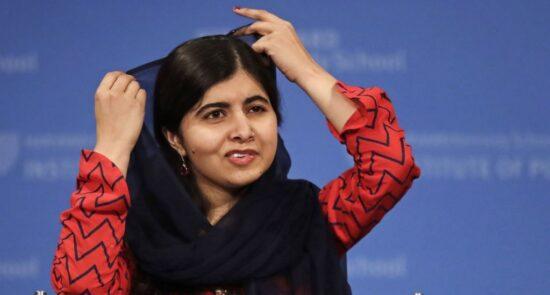 ملاله یوسفزی 550x295 - واکنش ها به نماینده گی ملاله یوسفزی از زنان افغان در نشست شورای امنیت سازمان ملل