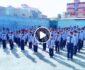 ویدیو/ پخش سرود طالبانی بجای سرود ملی در برخی از مکتبهای مزارشریف