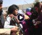 ویدیو/ برخورد غیر انسانی طالبان با بانوان معترض در کابل