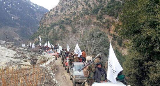 پنجشیر طالبان 550x295 - از بمبارد طیارات جنگی پاکستان تا حضور داعش و القاعده در پنجشیر