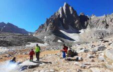 صعود کوهنورد ۶ ساله افغان به قله شاه فولادی بامیان + تصاویر