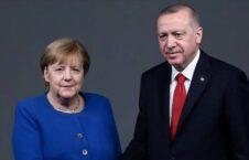 اردوغان میرکل 226x145 - دیدار رییس جمهور ترکیه و صدراعظم جرمنی با محوریت موضوع افغانستان