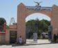 تصویر/ تخریب عکس های تاریخی دیوار شاروالی مزارشریف
