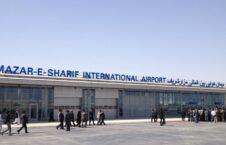 میدان هوایی مزار شریف 226x145 - انتقال نخبگان و مسوولین حکومت پیشین از میدان هوایی مزار شریف به یونان