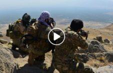 ویدیو/ ایستاده گی نیروهای جبهه مقاومت ملی در کوههای اندراب